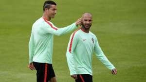 Ricardo Quaresma Cristiano Ronaldo Portugal 05072016