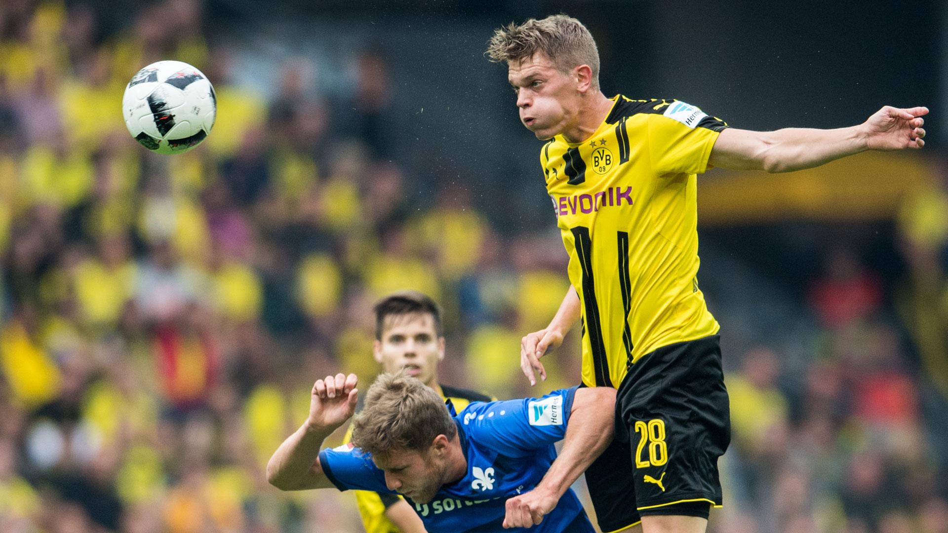 Matthias Ginter Borussia Dortmund Sven Schipplock Darmstadt Bundesliga 17092016