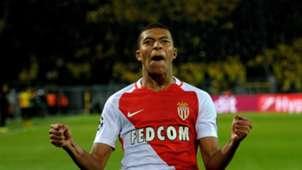 Kylian Mbappe Borussia Dortmund Monaco Champions League 12042017