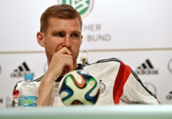 Per Mertesacker Germany Press conference 2014 World Cup 06192014