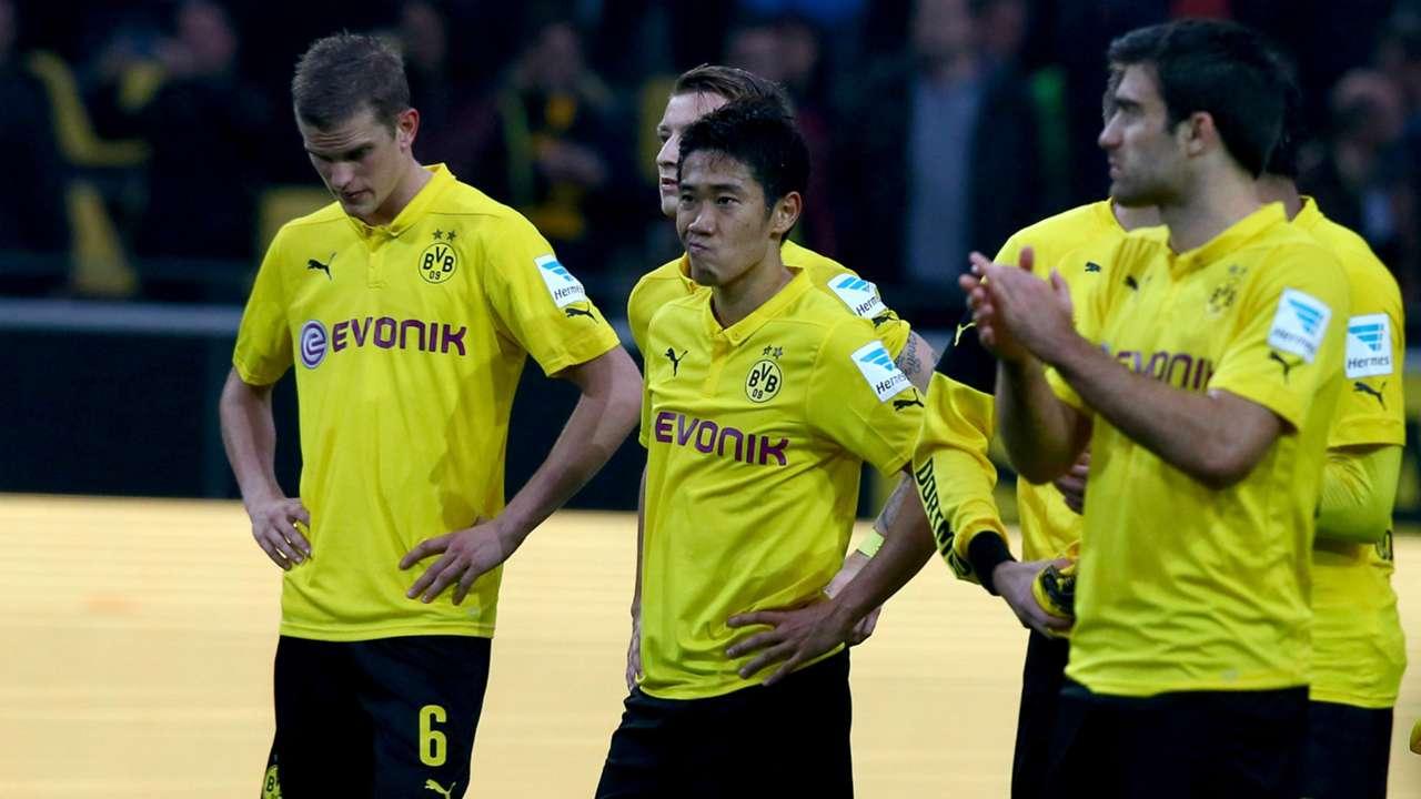 Shinji Kagawa Lars Bender Sokratis Borussia Dortmund