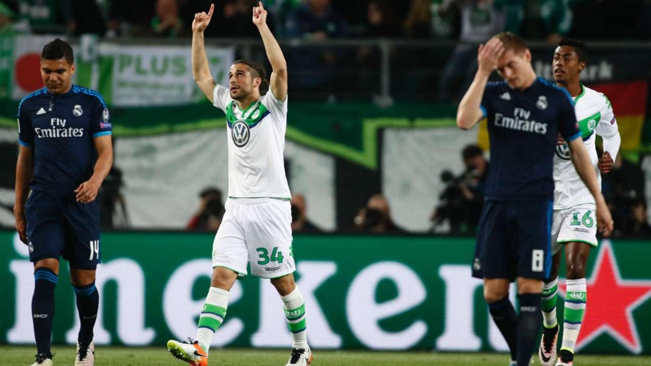 Ricardo Rodriguez VfL Wolfsburg Real Madrid Champions League 06042016