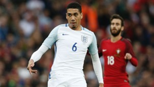 Chris Smalling England Portugal 06022016