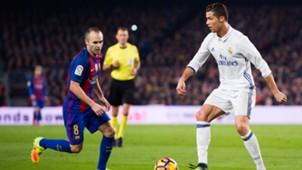 Iniesta Ronaldo Barcelona Real Madrid Clasico 03122016