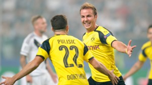 GERMANY ONLY Mario Götze Legia Warschau Borussia Dortmund UEFA Champions League 14092016