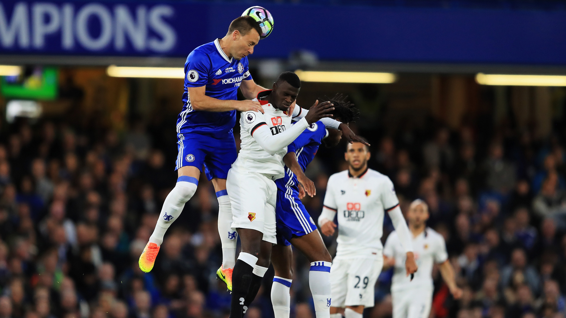 Premier League: festa Chelsea a Stamford Bridge, poker al Watford
