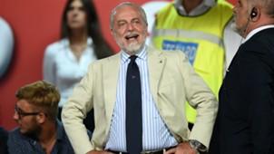Aurelio De Laurentiis SSC Napoli 01082016