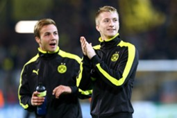 Mario Götze and Marco Reus together at Borussia Dortmund