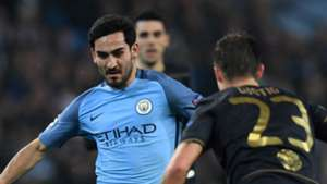 Ilkay Gündogan Manchester City Celtic Glasgow Champions League 06122016