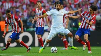 Sami Khedira Tiago Real Madrid Atletico Champions League