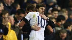 Mauricio Pochettino Harry Kane Tottenham Hotspurs 11222015