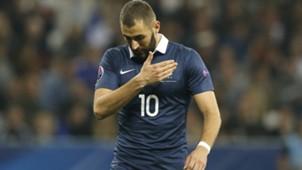 Karim Benzema Frankreich 10082015