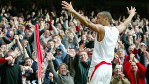 Arsenal Liverpool Thierry Henry