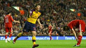 Andrey Arshavin Liverpool Arsenal