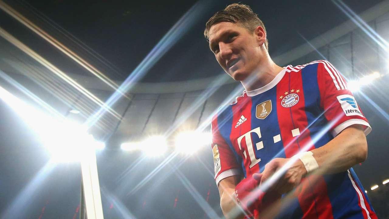 Bastian Schweinsteiger FC Bayern Munchen TSG 1899 Hoffenheim Bundesliga 22112014