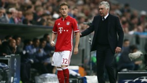 Joshua KImmich Carlo Ancelotti FC Bayern