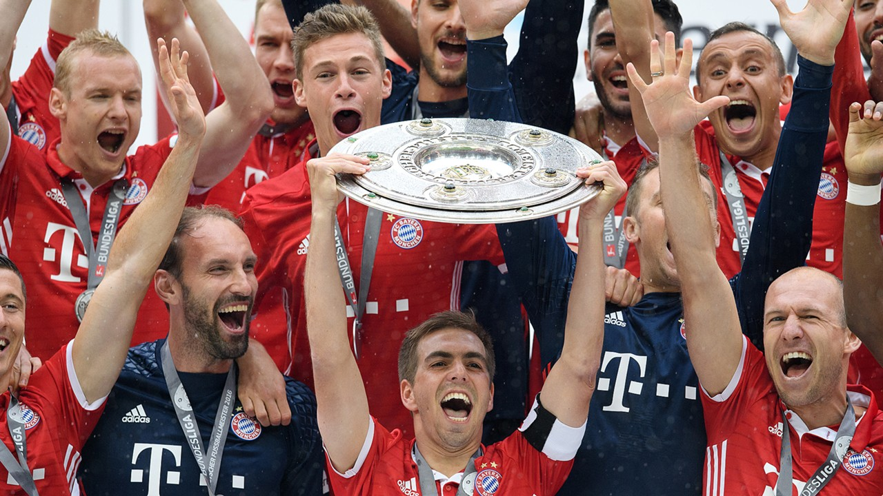FC Bayern Philipp Lahm Champions 052016