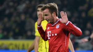 Mario Götze Borussia Dortmund FC Bayern München Bundesliga 23112013