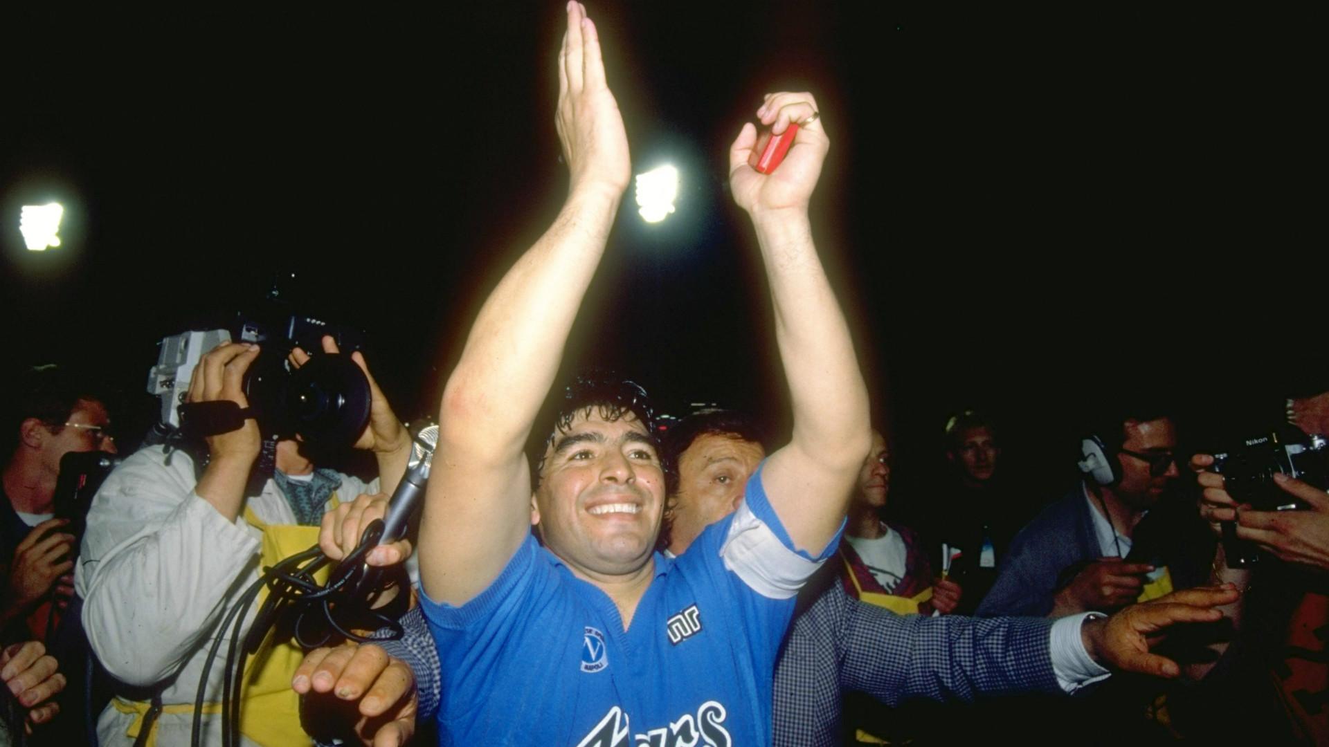 Diego Maradona Napoli 1989