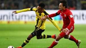 Pierre-Emerick Aubameyang Mats Hummels Borussia Dortmund FC Bayern 19112016