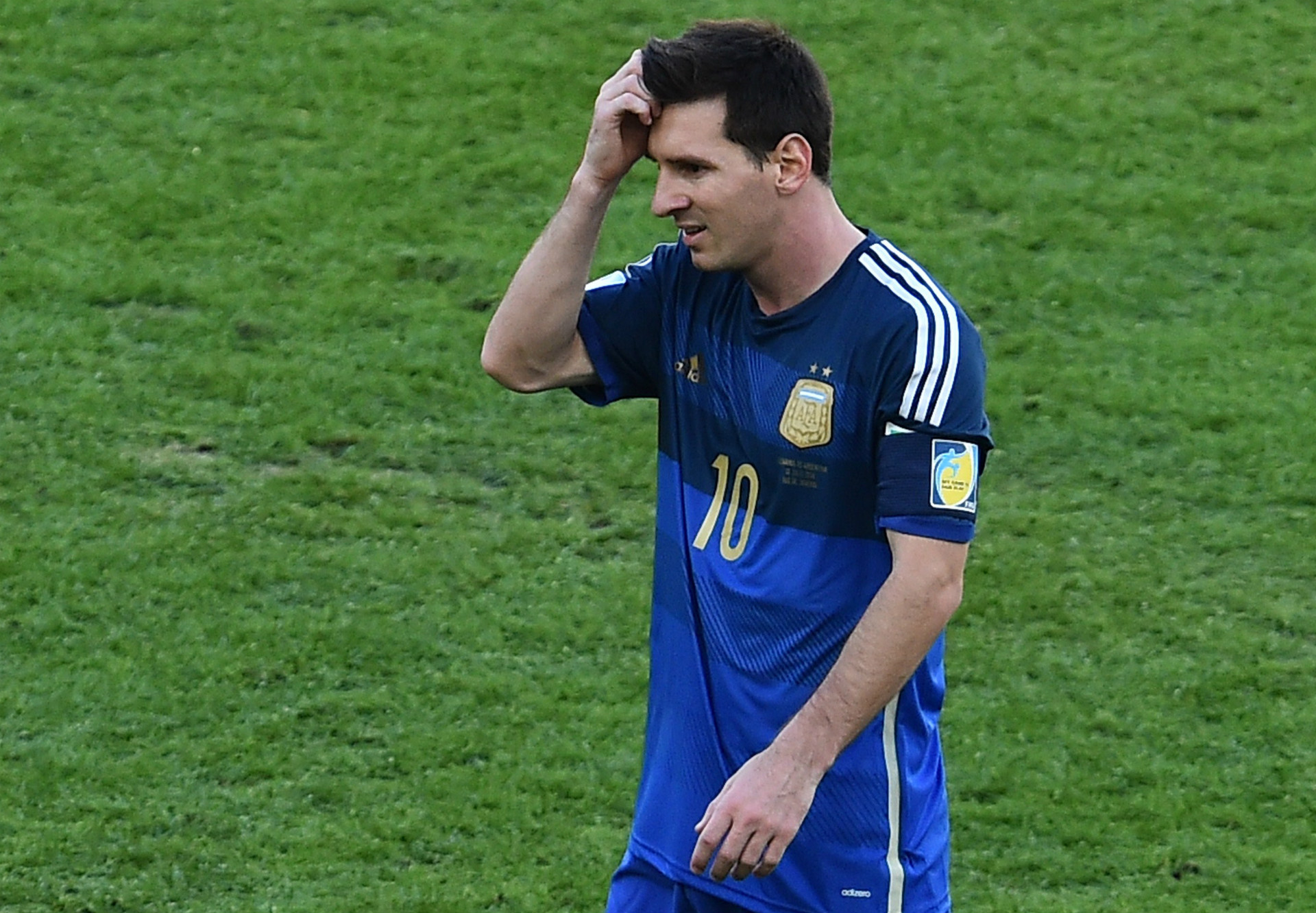 LIONEL MESSI ARGENTINA 2014 WORLD CUP FINAL 07132014