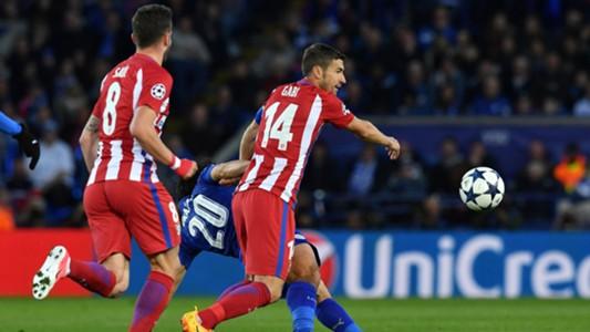 Saul Niguez Gabi Atletico Leicester