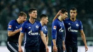 Klaas Jan Huntelaar Leon Goretzka Franco Di Santo FC Schalke 04 04032017