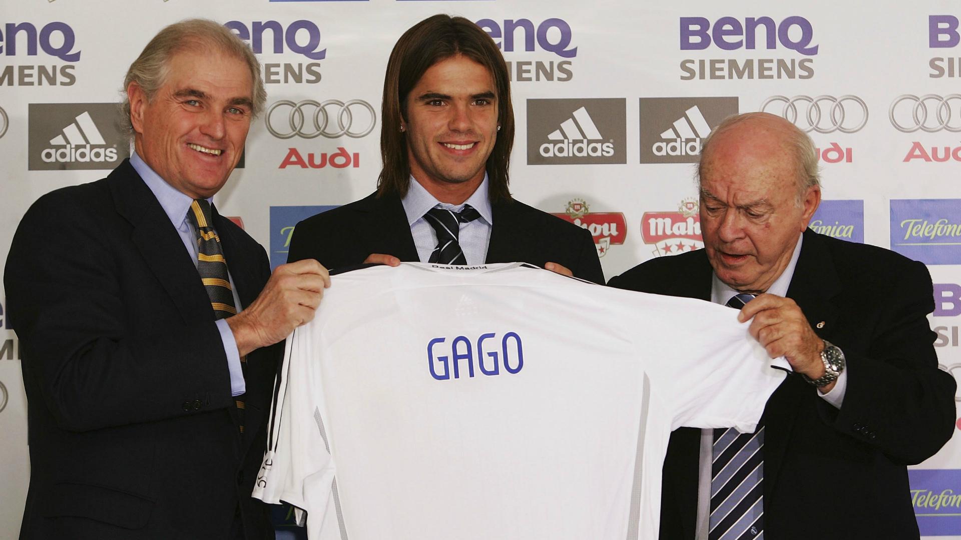 Fernando Gago Real Madrid unveiling