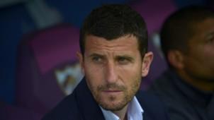 Javi Gracia Malaga Atletico de Madrid Liga BBVA 04112015