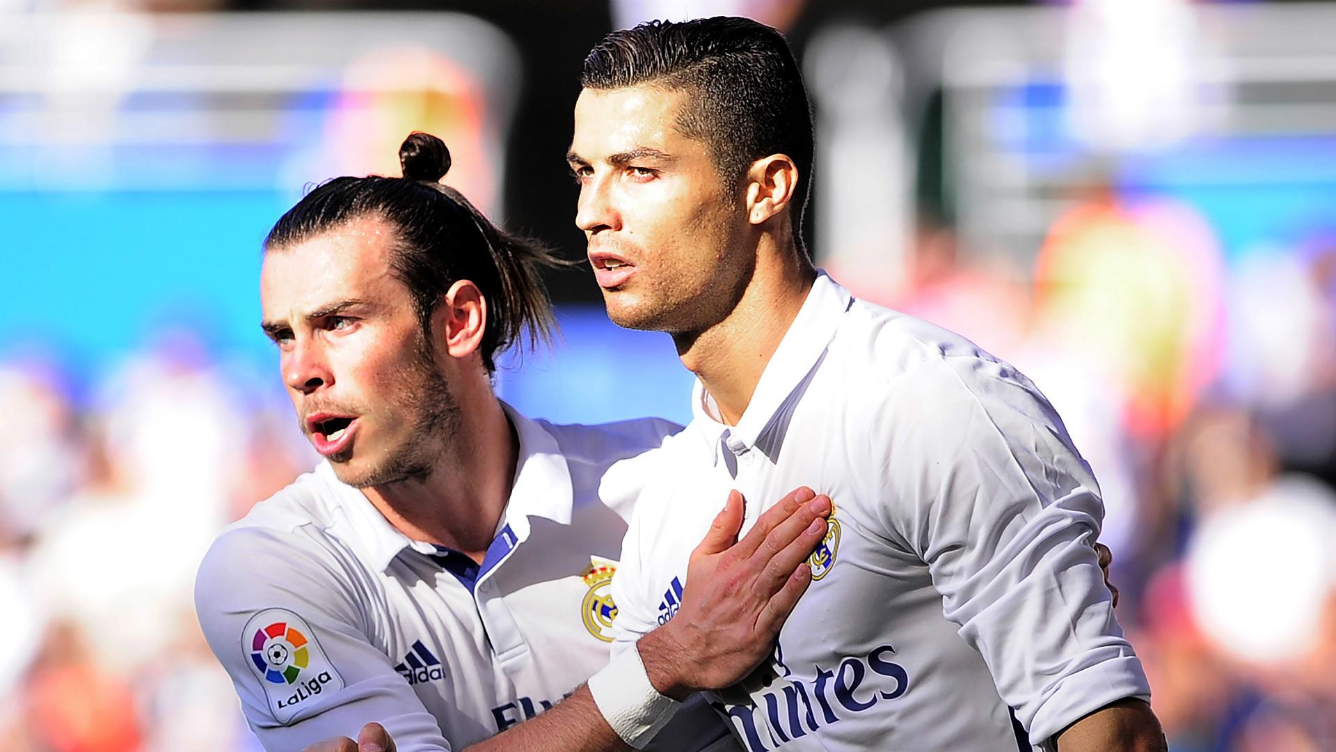 Gareth Bale Cristiano Ronaldo Alaves Real Madrid LaLiga 29102016
