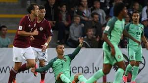 Cristiano Ronaldo Latvia Portugal