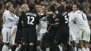 Real Madrid Olympique Lyon Champions 2010