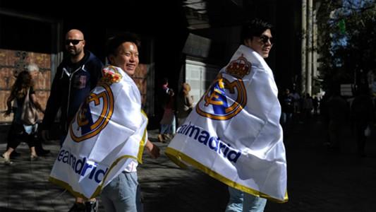 Supporters Real Madrid Barcelona El Clasico La Liga 10252014