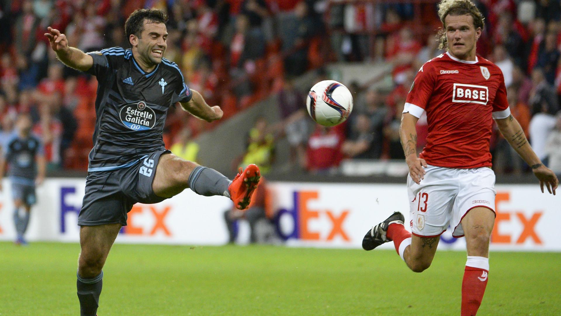 Giuseppe Rossi Alexander Scholz Standard Liege Celta UEFA Europa League