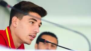 Hector Bellerin Spanish Press Conference