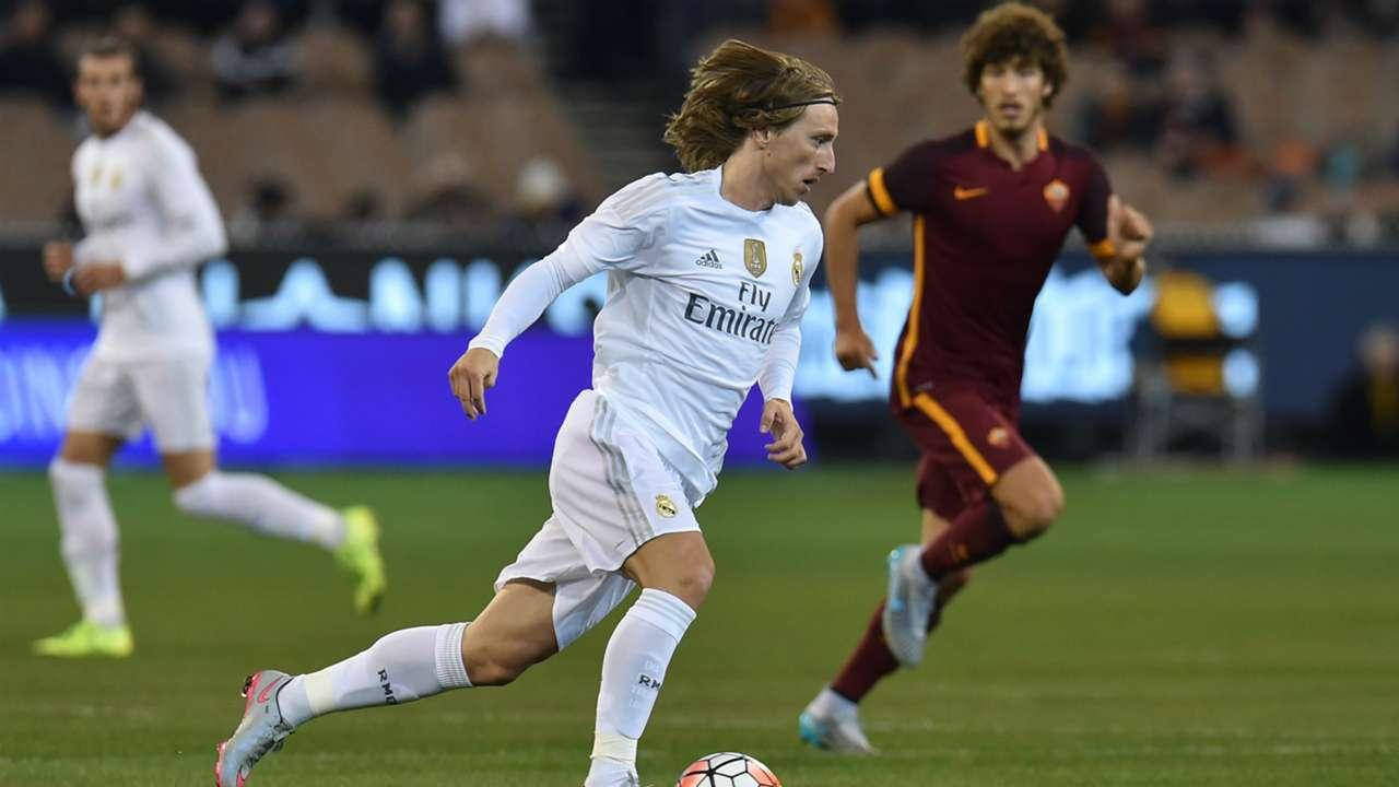 Luka Modric Real Madrid Roma International Champions Cup 07182015