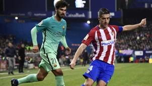 Andre Gomes Gabi Atletico Madrid Barcelona Copa del Rey