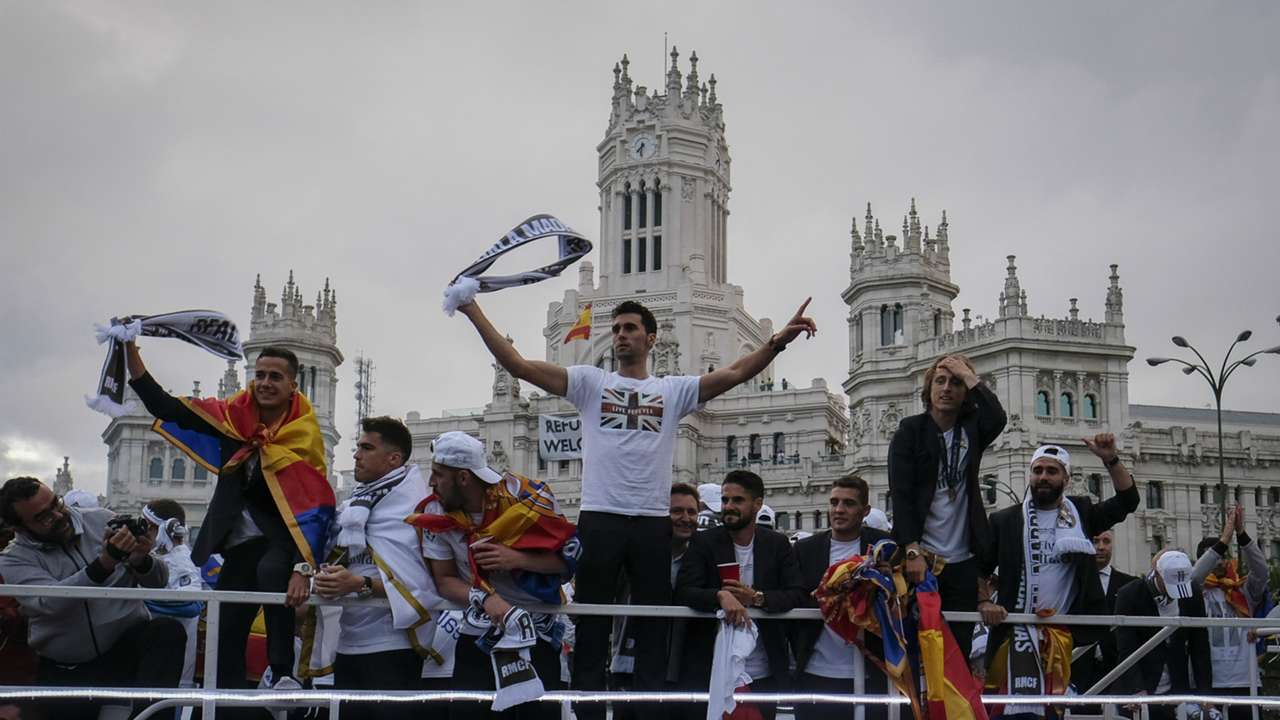 In Pictures Real Madrid Celebrate Undecima Champions League Win In