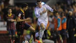 Bartra Bale Real Madrid Barcelona Copa del Rey 2014