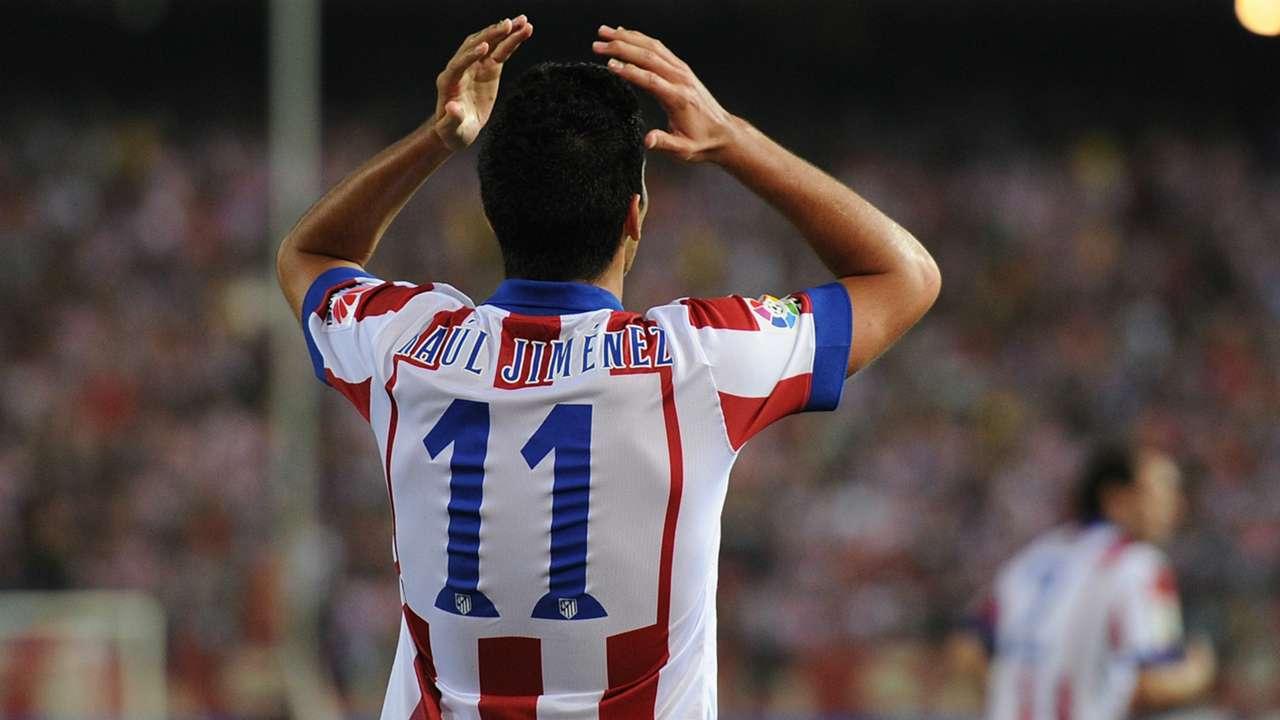 Raul Jimenez Atletico Madrid Celta La Liga