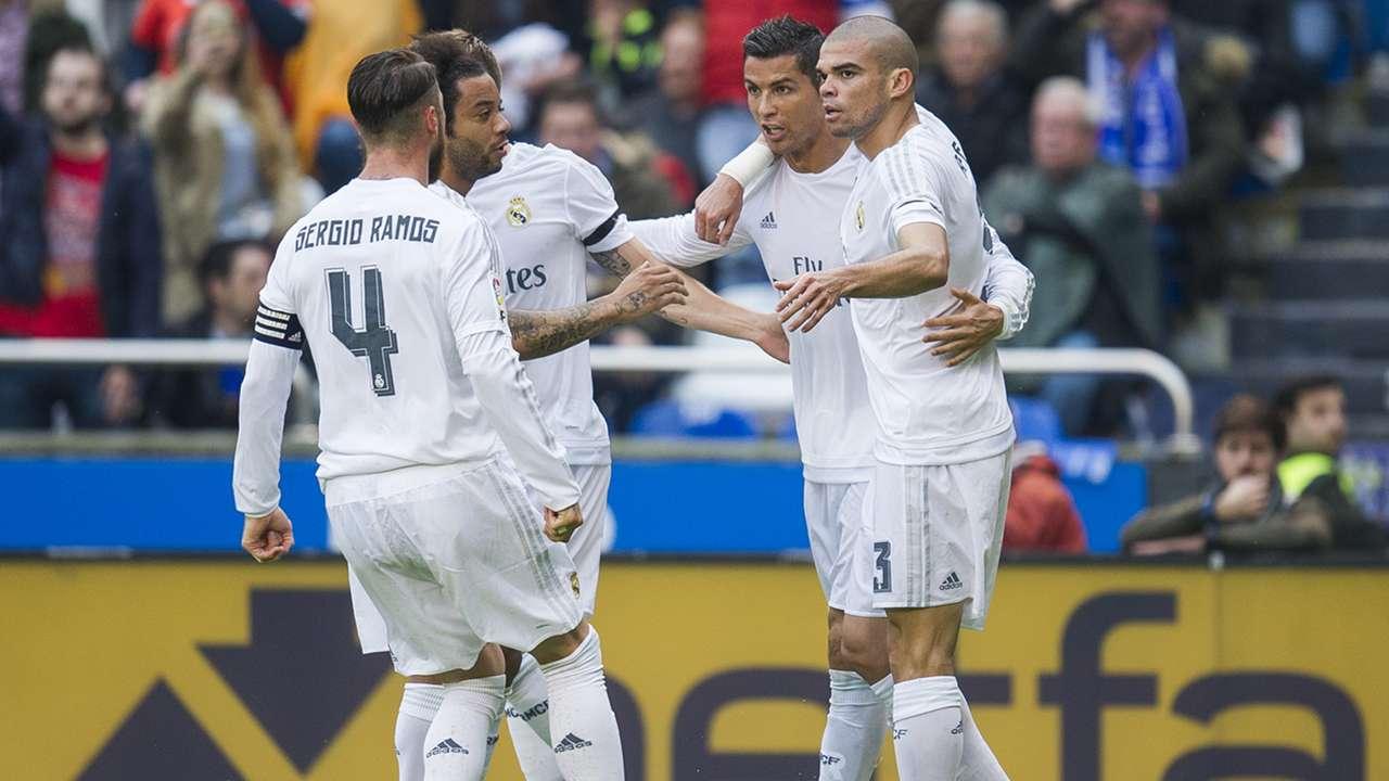 Cristiano Ronaldo  Sergio Ramos Deportivo Real Madrid 14052016