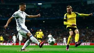 Lucas Vazquez Marcel Schmelzer Real Madrid Borussia Dortmund Champions League