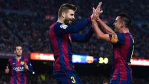 Piqué Xavi Barcelona