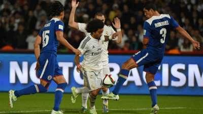 Marcelo Francisco Javier Rodriguez Cruz Azul Real Madrid FIFA World Club Cup 12162014