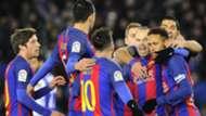Neymar Messi Real Sociedad Barcelona Copa del Rey