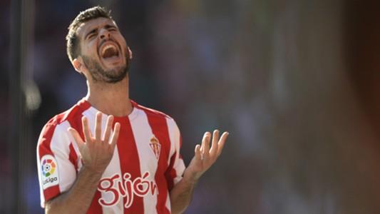 Victor Rodriguez Sporting Gijon