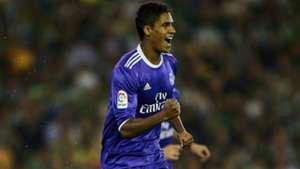 Raphael Varane Betis Real Madrid La Liga