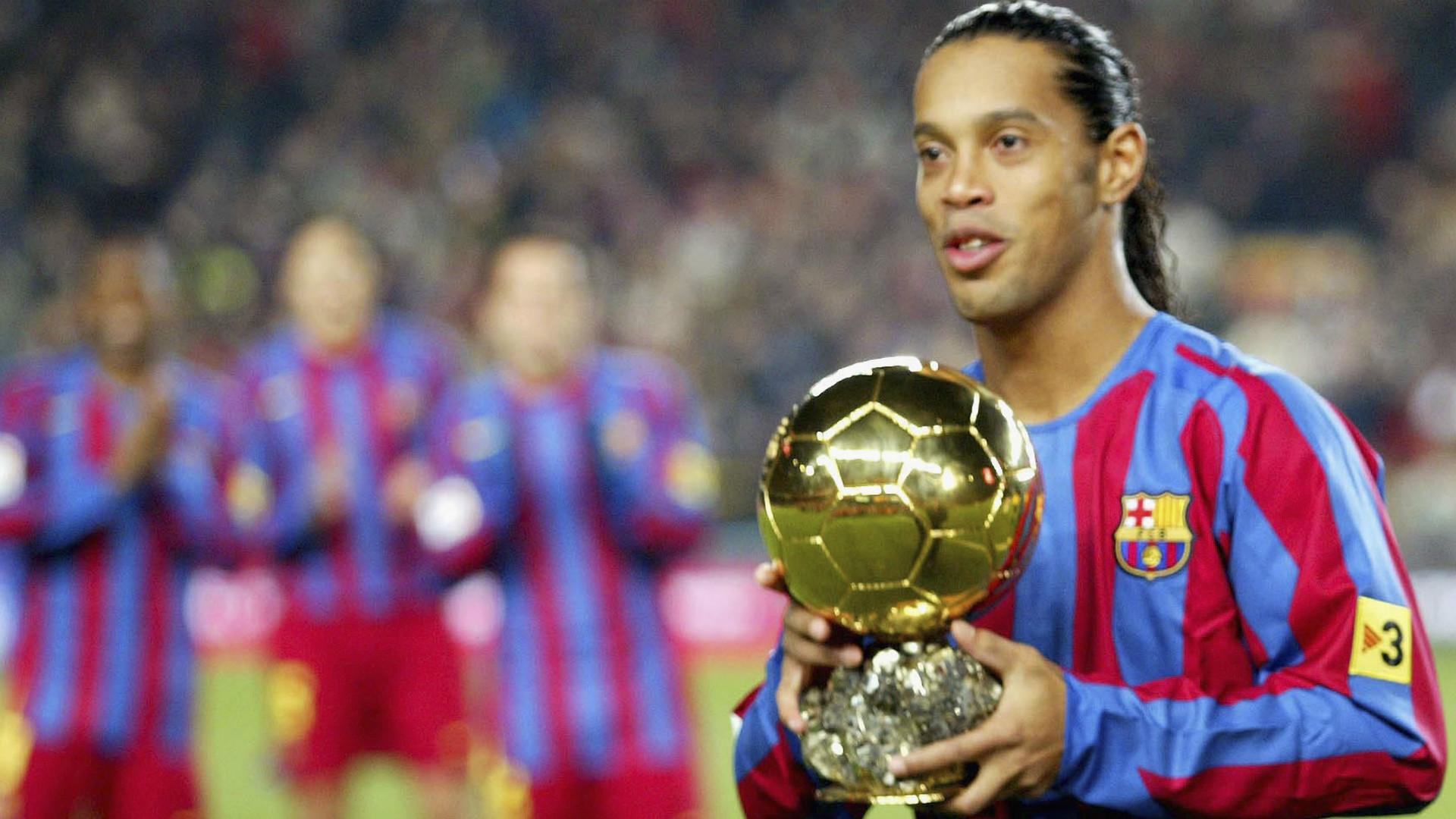 Ronaldinho Ballon Dor Barcelona