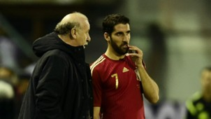 Vicente Del Bosque Raul Garcia Spain Germany International Friendly 11182014
