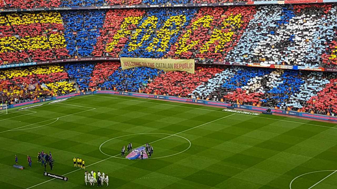 Camp Nou Barcelona Real Madrid La Liga
